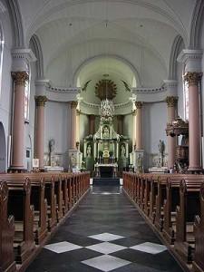 Interieur kerk A-R