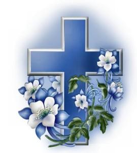 kruis+met+bloemen